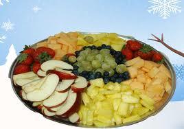 Fruit Dessert with Apples for Violette and Vidock