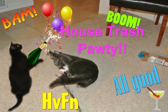House Trash Pawty