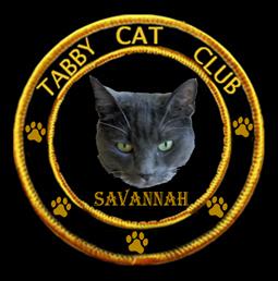 Tabby Cat Club Badge