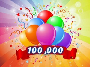 100,000 hit award #1