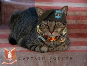 captain fokker uniform
